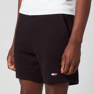 Tommy Sport Men's Logo Fleece Shorts - Black