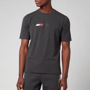 Tommy Sport Men's Chest Logo T-Shirt - Dark Grey Heather