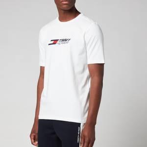 Tommy Sport Men's Chest Logo T-Shirt - White