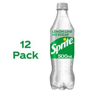 Sprite No Sugar 12 x 500ml