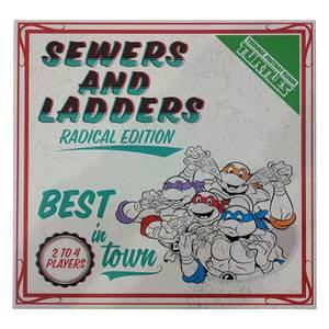 Fanattik Teenage Mutant Ninja Turtles Sewers & Ladders Board Game