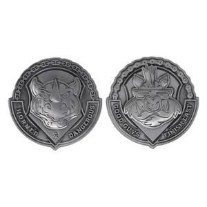 Fanattik Teenage Mutant Ninja Turtles Bad Guys Medallion Set