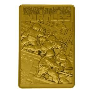 Fanattik Teenage Mutant Ninja Turtles 24k gold plated ingot