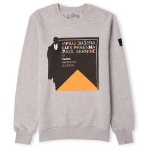 Lupin Silhouette Unisex Sweatshirt - Grey
