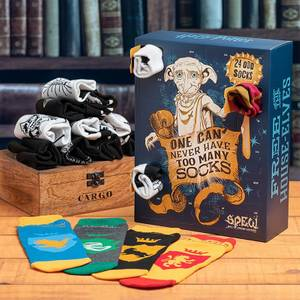 Harry Potter Odd Socks Advent Calendar