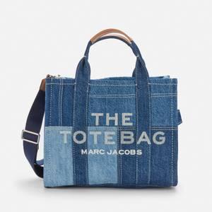 Marc Jacobs Women's The Denim Small Tote Bag - Blue Denim
