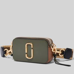 Marc Jacobs Women's Snapshot - Dark Green Multi
