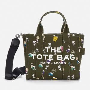 Marc Jacobs Women's The Tote Bag Peanuts Print - Dark Green Multi