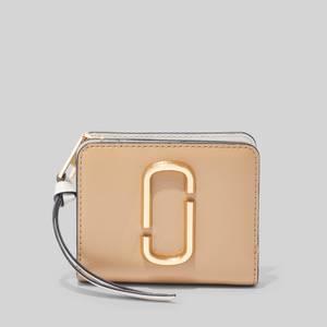 Marc Jacobs Women's Mini Compact Wallet - New Sandcastle Multi