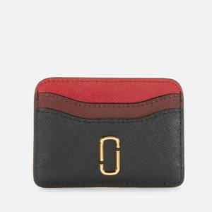 Marc Jacobs Women's New Card Case - Black/Chianti