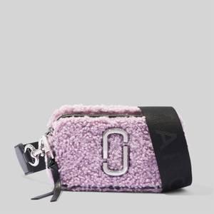 Marc Jacobs Women's Snapshot Teddy Bag - Arctic Dust