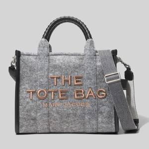 Marc Jacobs Women's The Felt Flannel Tote Bag - Heather Grey