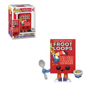 Froot Loops Cereal Box Funko Pop! Vinyl