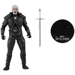 McFarlane Witcher (Netflix) 7 Inch Action Figure - Geralt of Rivia (Kikimora Battle Bloody)