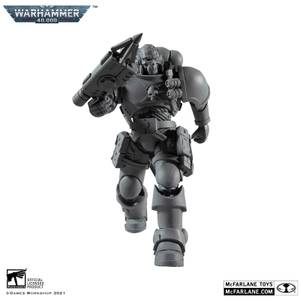 McFarlane Warhammer 40,000 7 Inch Action Figure - Space Marine Reiver with Grapnel Launcher (Artist Proof)