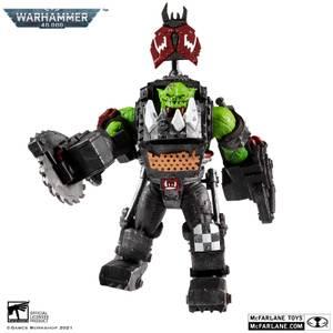 McFarlane Warhammer 40,000 Megafig Action Figure - Ork Meganob with Buzzsaw