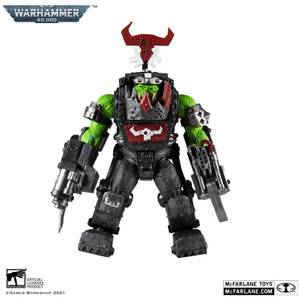 McFarlane Warhammer 40,000 Megafig Action Figure - Ork Meganob with Shoota