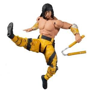 McFarlane Mortal Kombat 7 Inch Action Figure - Liu Kang (Fighting Abbot)