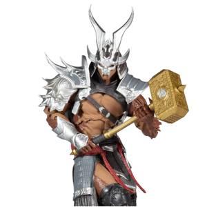 McFarlane Mortal Kombat 7 Inch Action Figure - Shao Kahn (Platinum Kahn)