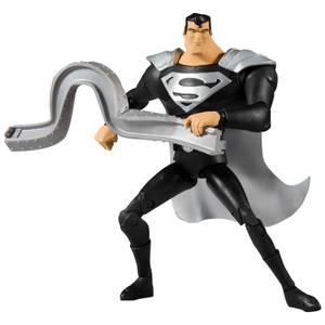 McFarlane DC Multiverse 7 Inch Action Figure - Animated Superman (Black Suit)