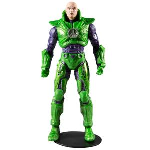 McFarlane DC Multiverse 7 Inch Action Figure - Lex Luthor in Power Suit (Green Suit)