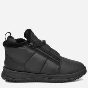 UGG Women's Lakesider Zip Puff Water Resistant Boots - Black