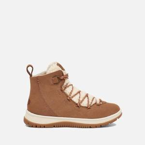 UGG Women's Lakesider Heritage Mid Waterproof Suede Boots - Chestnut