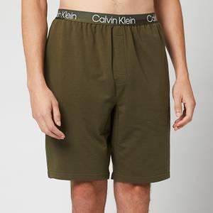Calvin Klein Men's Sleep Shorts - Army Green