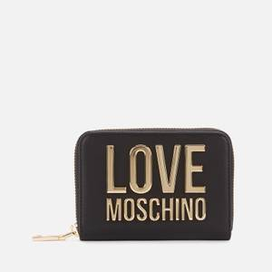 Love Moschino Women's Logo Wallet - Black
