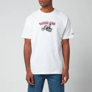 A.P.C. X Gimme 5 Men's Samy T-Shirt - White