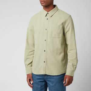 A.P.C. Men's Trek Shirt - Almond Green