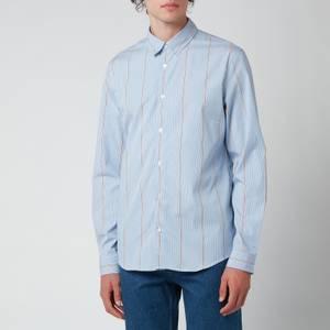 A.P.C. Men's Anthony Shirt - Blue