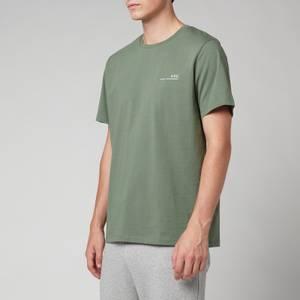 A.P.C. Men's Item T-Shirt - Green