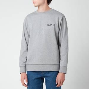 A.P.C. Men's Jimmy Sweatshirt - Heathered Grey