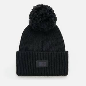 UGG Women's Airy Knit Bobble Hat - Black