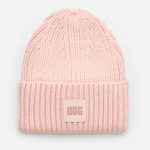 UGG Women's Airy Knit Beanie - Pink Cloud