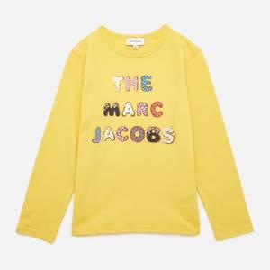 The Marc Jacobs Girls' Long Sleeve T-Shirt - Yellow