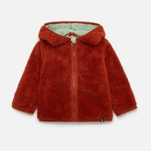 Joules Babys' Cuddle Fox Cardigan - Orange
