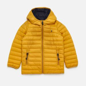 Joules Boys' Recycled Packable Padded Jacket - Gold