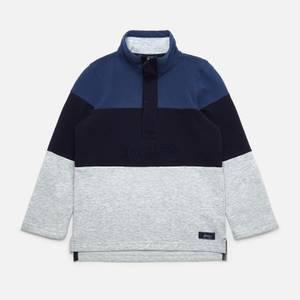 Joules Boys' Dale Half Zip Sweatshirt - Blue Grey