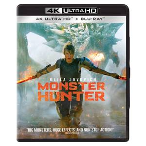 Monster Hunter - 4K Ultra HD (Includes Blu-ray)