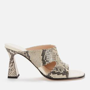 Wandler Women's Marie Leather Heeled Sandals - Nomad Mix