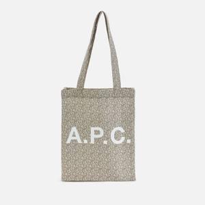 A.P.C. Men's Lou Tote Bag - Light Khaki
