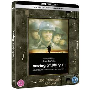 Il Faut Sauver le Soldat Ryan - Steelbook 3 Disques 4K Ultra HD - Exclusivité Zavvi (Blu-ray inclus)