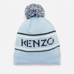 KENZO Babys' Boy Bobble Hat - Pale Blue
