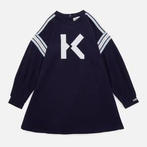 KENZO Girls' Logo Dress - Electric Blue