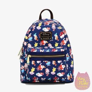 Loungefly Snow White Dwarfs AOP Mini Backpack - VeryNeko Exclusive