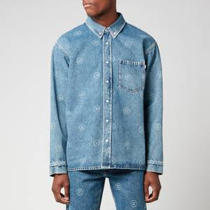 Martine Rose Men's Denim Overshirt - Blue Denim