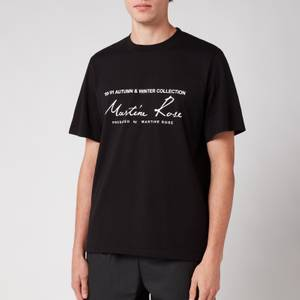 Martine Rose Men's Classic T-Shirt - Black
