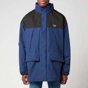 Martine Rose Men's Two In One Coat - Blue/Black